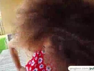 شرائط سيسيليا الأسد وتباهي على كاميرا ويب