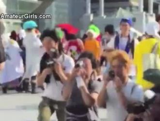 استمناء سمراء عملاقة اليابانية الساخنة